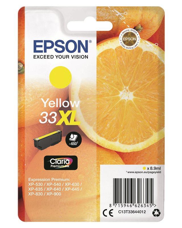 Epson Original - Tinte XL gelb - 33 Claria
