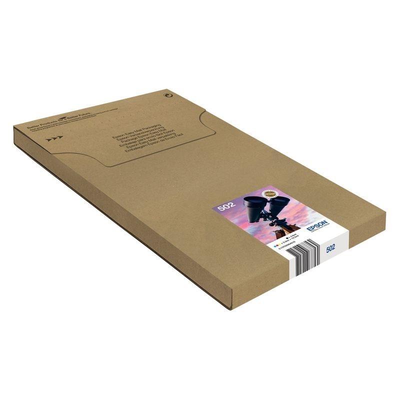 Epson Original Tinten-Multipack BK/C/M/Y 502 - C13T02V64510