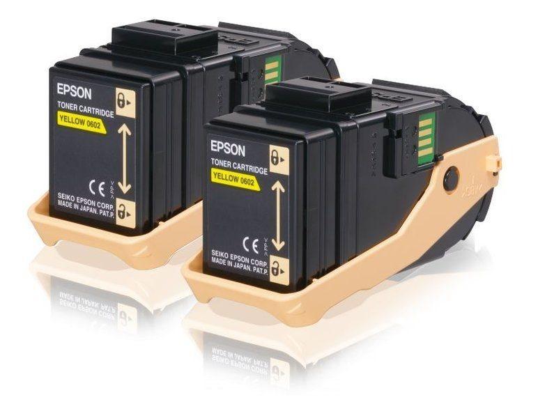 Epson Original - Toner gelb HC - C13S050606
