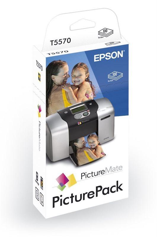 EPSON Patronen + Papier - T557040