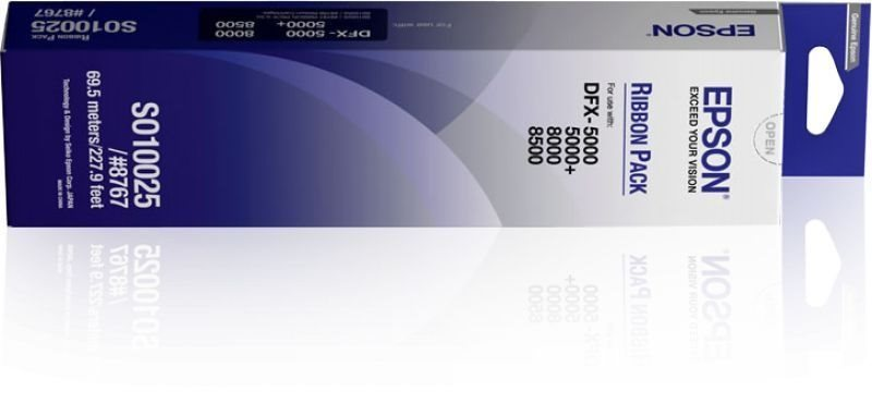 Epson SIDM Black Farbband zum Nachfüllen  - C13S01