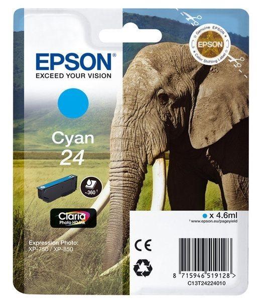 Epson Singlepack cyan 24 Claria T2422