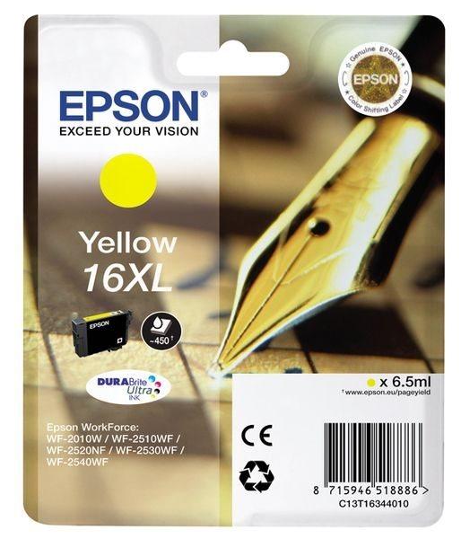 Epson Singlepack gelb 16XL Ultra Ink T1634