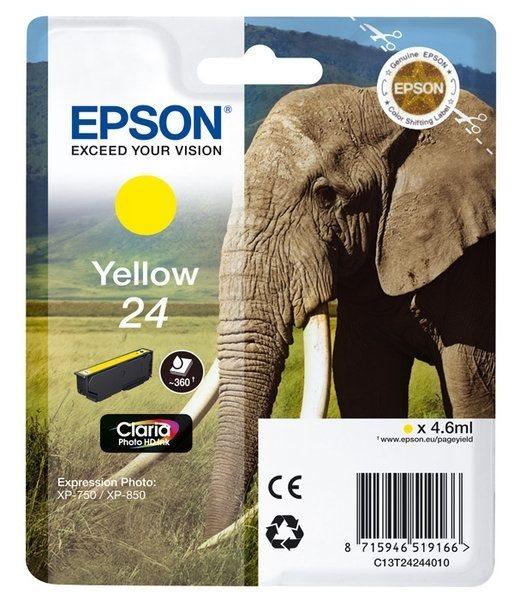 Epson Singlepack gelb 24 Claria T2424