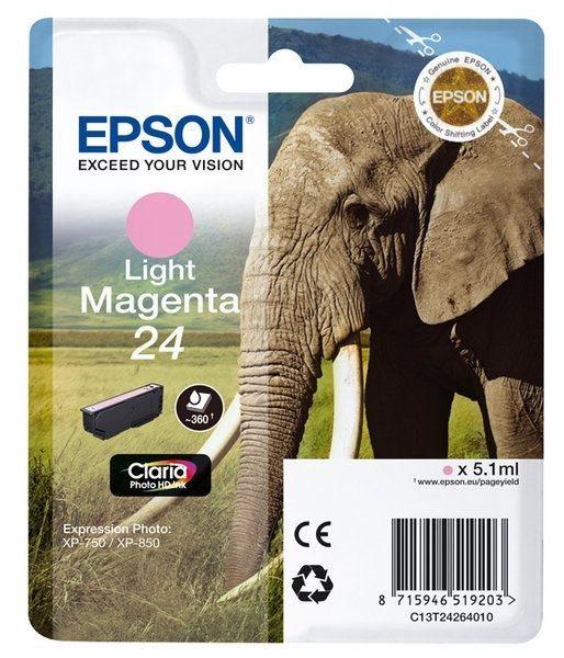 Epson Singlepack Light magenta 24 Claria T2426