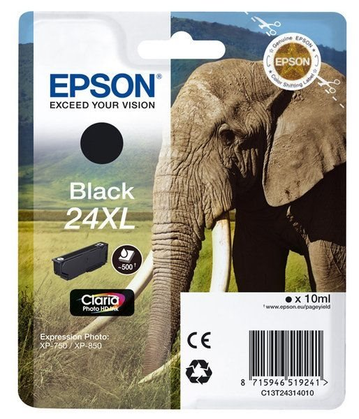 Epson Singlepack schwarz 24XL Claria T2431