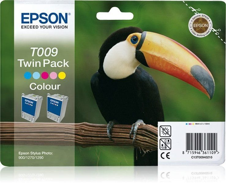 Epson T009 Twin Pack - 2er-Pack - Farbe