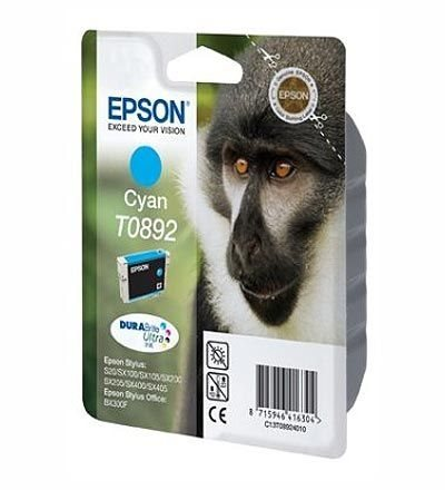 Epson Tinte cyan T0892, DURABrite