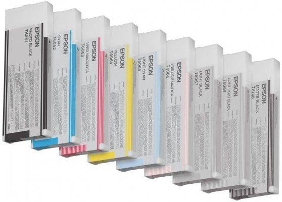 Epson Tinte für Pro 4880 gelb, HC