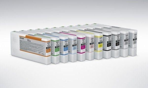Epson Tinte light schwarz für Pro4900, T653700