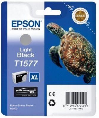 Epson Tinte light schwarz für R3000, T15774010