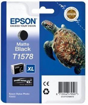 Epson Tinte matt schwarz für R3000, T15784010
