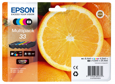 Epson Tinte Multipack 5-Farben 33 T3337