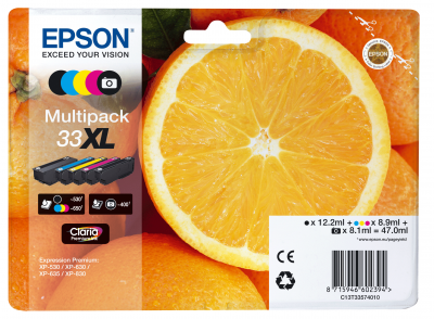 Epson Tinte Multipack 5-Farben 33XL T3357