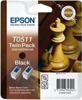 Epson Tinte schwarz 2erPack , T05114210