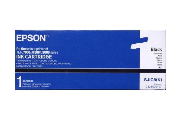 Epson Tinte schwarz für TM-J7000, S020407