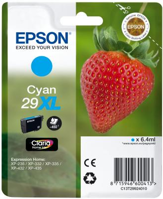Epson Tinte Singlepack cyan 29XL T2992