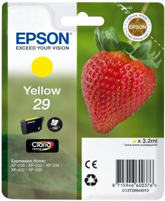 Epson Tinte Singlepack gelb 29 T2984