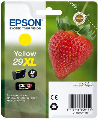 Epson Tinte Singlepack gelb 29XL T2994