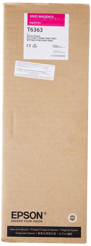 Epson Tinte vivid magenta für Pro7890, T636300