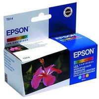 EPSON Tintenpatrone color 480/580 -T014401-