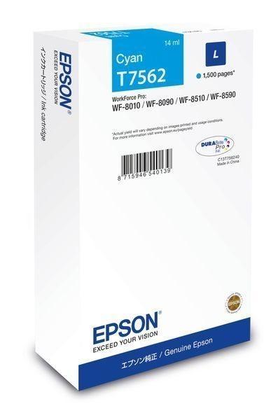 Epson Tintenpatrone cyan L -  C13T756240