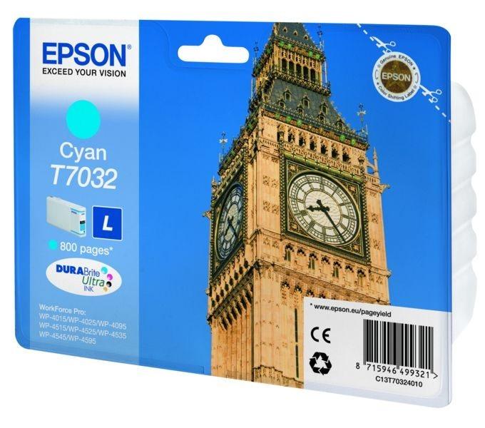 Epson Tintenpatrone cyan , T70324010