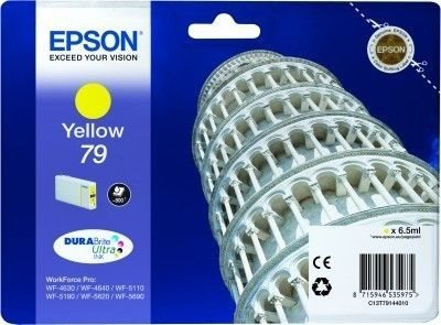 Epson Tintenpatrone gelb -  C13T79144010