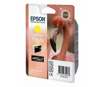 Epson Tintenpatrone gelb für R1900, T08744010