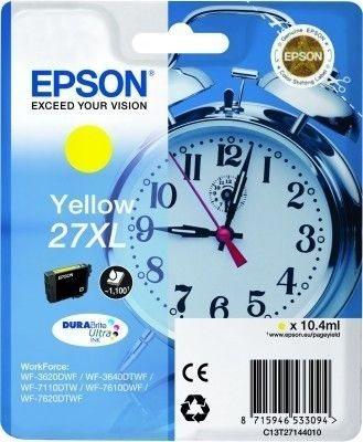 Epson Tintenpatrone gelb XL -  C13T27144010