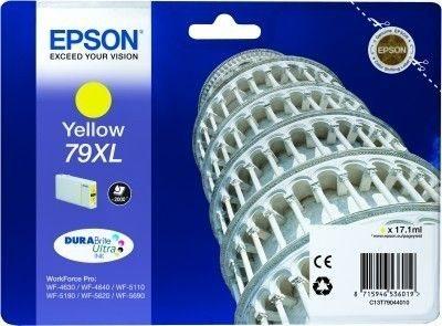 Epson Tintenpatrone gelb XL -  C13T79044010