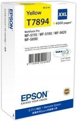 Epson Tintenpatrone gelb XXL -  C13T789440