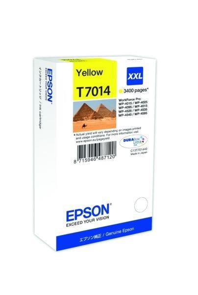 Epson Tintenpatrone gelb XXL , T70144010