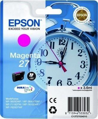 Epson Tintenpatrone magenta -  C13T27034010