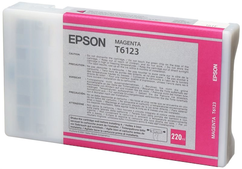 Epson Tintenpatrone magenta, T567300, HC