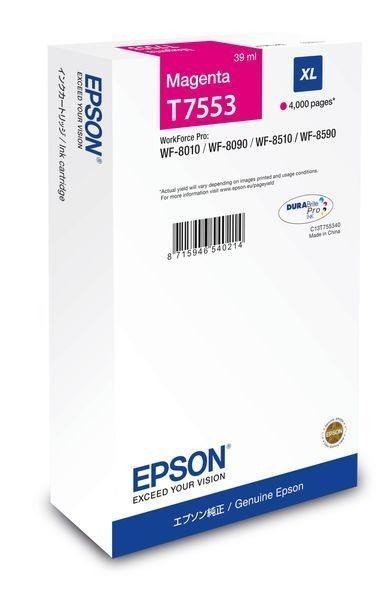 Epson Tintenpatrone magenta XL -  C13T755340