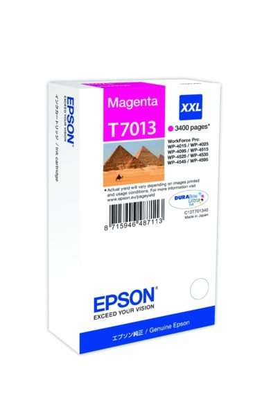Epson Tintenpatrone magenta XXL , T70134010