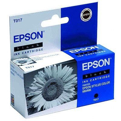 EPSON Tintenpatrone schwarz 680 -T017401-