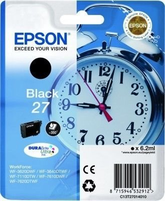 Epson Tintenpatrone schwarz  -  C13T27014010
