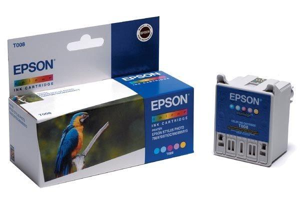 EPSON Tintenpatrone schwarz - T008401