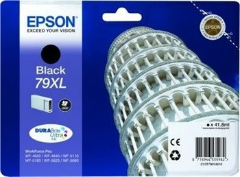 Epson Tintenpatrone schwarz XL -  C13T79014010