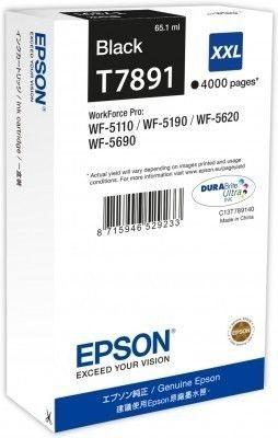Epson Tintenpatrone schwarz XXL -  C13T789140