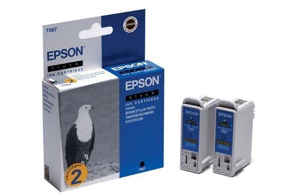 EPSON Tintepatrone schwarz - T007402