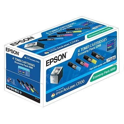 EPSON Toner Color Economy Pack für AcuLaser C1100