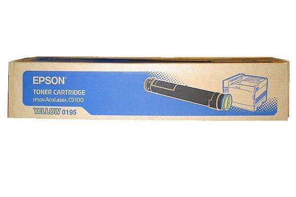 EPSON Toner für AcuLaser C9100, gelb