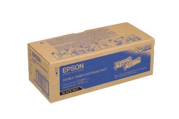 Epson Toner schwarz Doppelpack für AcuLaser C2900