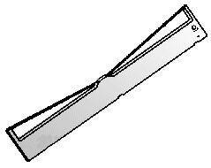 Farbband für Brother M 1724 schwarz - 9050