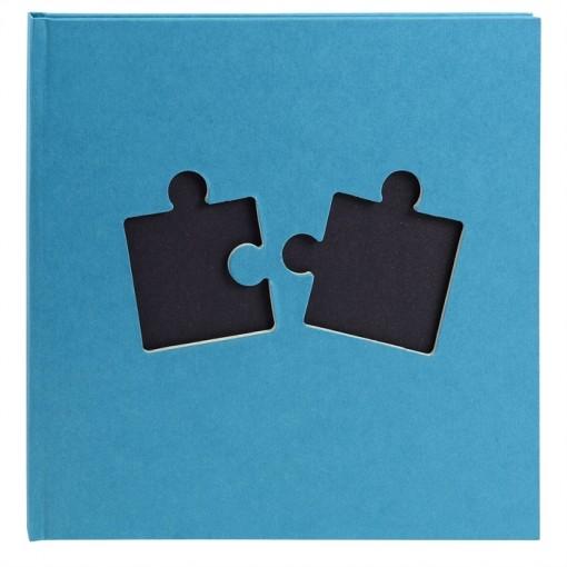 Fotoalbum Puzzle 30 Seiten schwarz, 25x25.