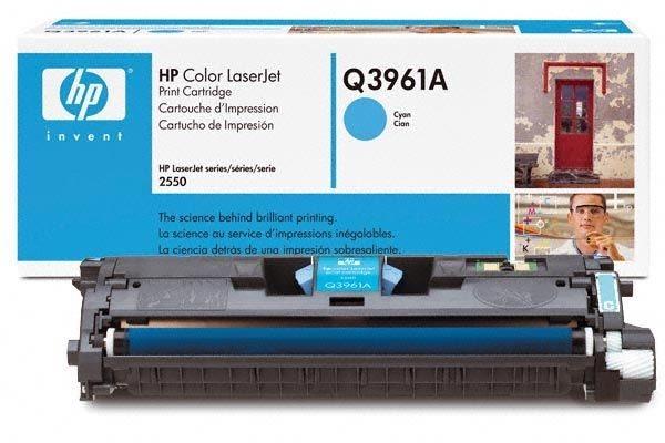 HP 122A original Toner cyan - Q3961A