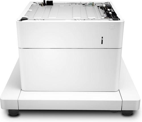 HP 1x550 Blatt Papierzuführung und Schrank